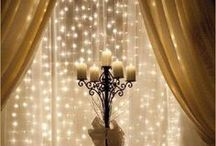 The Sparkly Touches / The sparkle is what adds that extra special touch to a wedding, a party, or to your home decor.  Here at Transparentes Design, we specialize in creating that WOW factor you love.