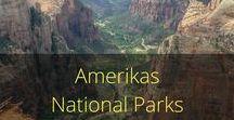 Amerikas National Parks / Amerikas National Parks gehören zu den Zielen, die bei keinem Road Trip fehlen dürfen. Im Südwesten ist die Dichte besonders hoch. Vom Arches über den Grand Canyon bis zum Zion bieten insbesondere Arizona, Kalifornien und natürlich Utah unglaublich viele sehenswerte National Parks.