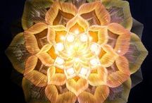 mandalas by willowlamp / Our beautiful designs reveal magical mandala forms when seen from below.