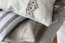 Vintage Bed Linens and Embroidery