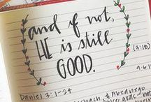 God is good / by Lauren Kewley