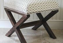 Furniture to Build / Furniture plans, Tutorials to build furniture, ideas of furniture I want to make