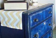 Furniture / Ideas for refinishing furniture | Furniture makeovers | Furniture DIY | Repurposed Furniture