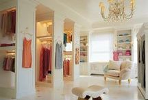 """Closet Envy / """"I like my money right where I can see it... hanging in my closet."""" -Carrie Bradshaw, SATC / by Sydney Becker"""