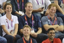 Cambridge 1, Cambridge 2 and Prince Harry, too! - 2012 Olympic Games / by Carole Harper