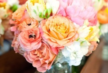 INSPIRATION | Flowers / Flowers bouquets green pink