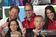 Cambridge 1, Cambridge 2 and Prince Harry, too. / The Terrific Trio on official engagements or just hanging out. / by Carole Harper