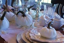 table setting - fall