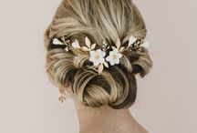 Wedding Hair Style / Inspiration for Wedding hair style with flowers