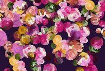 Flower paintings / Flower paintings, colorful , acrylic,