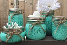 Mason Jars Crafts / All things Mason Jars! | Mason Jar Crafts | Mason Jar Ideas | Mason Jar Gifts | Mason Jar DIY's