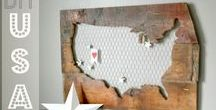 Barn wood ideas / Crafts, projects and ideas using barn wood or pallet wood