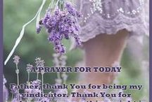 Father Today I Pray... / by Sandy Beck