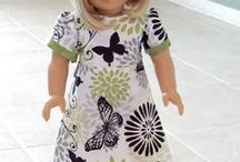 """Doll Clothes to Sew / 18"""" Doll Clothes Patterns 