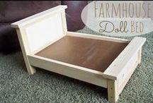 Doll Furniture to make / DIY Furniture for Dolls
