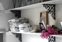 Laundry Room Inspiration / Laundry Room Ideas | Inspiration for Laundry Rooms | Laundry Room DIY