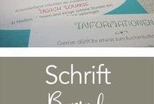 Schriften Logodesign / Hochzeitseinladung / Schriftbibliothek für Logos und Hochzeitspapeterie www.all2design.de