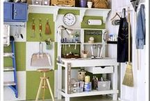 Organizing-Garages / Keeping garages organized & in check so that they don't end up being overrun and overfilled.