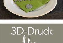 3D Druck / Ideen für Gastgeschenke oder Dekorationen für deine Hochzeit oder dein Zuhause