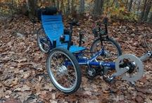 Greenspeed recumbent trike with EcoSpeed mid drive electric bike kit and NuVinci N360 hub / by Electric Bike Report