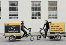 B-Line Electric Cargo Trike Deliveries / by Electric Bike Report