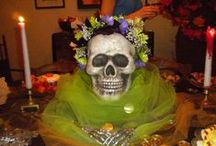 Halloween fantango / Decorations, desserts, devious dines, dress-up,and just fun-dango for Halloween!