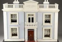 ANTIQUE DOLL HOUSES