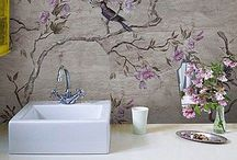 WALL / bath and kitchen wallpapers