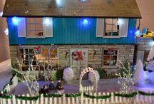 Tin doll houses