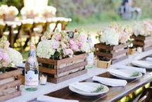 R E C E P T I O N    L O V E / Inspiration for your wedding reception