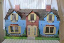 Cardboard (doll) houses