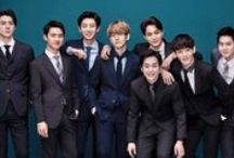 Exo / Exo is a Chinese-South Korean boy group based in Seoul. Formed by S.M. Entertainment in 2011, the group debuted in 2012 with twelve members separated into two subgroups, EXO-K and EXO-M, performing music in Korean and Mandarin, respectively. Today they're only 9 members left consisting of: D.O (Kyungsoo) Chanyeol, Baekhyun, Lay, Sehun, Kai, Suho, Xiumin and Chen.