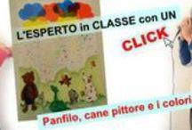 LIM: Arte / Acquerelli, tempere, matite, pennarelli e tante idee per rendere la lezione di arte creativa e divertente.