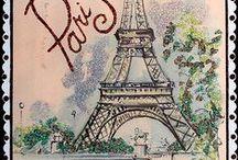 Paris - Eiffel Tower - Bordeaux -  nature , history , cities , wine .. / Paris - Eiffel Tower , Eiffel Tower , Bordeaux , nature , history , cities , wine .. / by Eva Viznerova