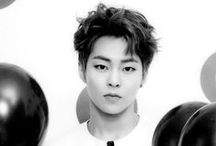 Xiumin / Kim Min-seok, better known by his stage name Xiumin, is a South Korean singer and actor who is a member of the South Korean-Chinese boy group EXO and its sub-unit EXO-M.