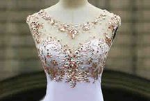 Prom / Grad / Queen Silver Star dress / Just some ideas for making my own dress!  Neckline, color, bodice, beading, sash, bottom, train, etc