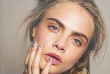 Cara Delevingne / Cara Jocelyn Delevingne is an English fashion model and actress. She signed with Storm Model Management after leaving school in 2009.