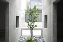 Innovative Green Spaces / Incorporate green spaces in to architectural design using rooftop gardens, vertical gardens and internal courtyards #architecture #green #space #design #garden