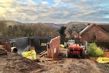 Shropshire Hills Project: Construction Process / See how our project in the Shropshire Hills has been pieced together. You can see a stage by stage progression