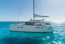 Lagoon 39 / The Lagoon 39 belongs to a new generation: With its beveled vertical bows, its deckhouse seemingly levitated above the deck , its pushed back rig for performance under sail and ease of use… the Lagoon 39 makes a striking first impression. And that's not the only evidence of VPLP's signature…