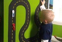 Organização / Maneiras criativas de organizar brinquedos, e roupas/roupas de cama das crianças.