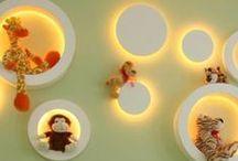 Iluminação quarto bebê / Ideias inovadoras para iluminar o quartinho do bebê.