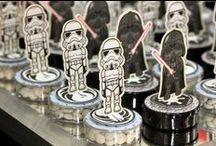 Festa Star Wars / Ideias de decoração para festas com tema Star Wars. facebook.com/casadamamaejoana | IG @casadamamaejoana  casadamamaejoana.com