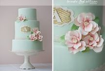 Weddingcakes - Minty green / pastel