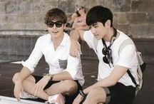 TVXQ / TVXQ, an initialism for Tong Vfang Xien Qi, is a South Korean pop duo consisting of U-Know Yunho and Max Changmin