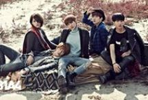 """B1A4 / B1A4 is a South Korean idol group under the management of WM Entertainment. The group debuted in April 23, 2011 with the single """"O.K"""" after their first introduction to the public through a webtoon."""