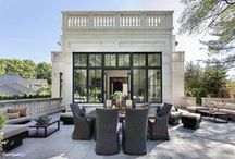 Outdoor Living Space / Outdoor home spaces including backyards, porches, patios, pools, terraces, decks, balconies and spectacular views. Brought to you by Jameson Sotheby's International Realty: Your Source for Chicago Real Estate, Evanston Real Estate, Winnetka Real Estate.