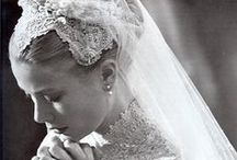 Eleganza Inspiration: Iconic Bridal Dresses / A collection of photographs of the most iconic celebrity wedding dresses of all time.
