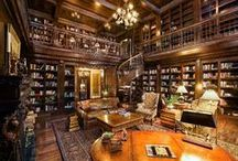 Library, Den & Home Office / The comfortable and classic home study, office, den, library and the like. Brought to you by Jameson Sotheby's International Realty: Your Source for Chicago Real Estate, Evanston Real Estate, Winnetka Real Estate.