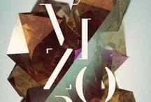 // TYPOGRAPHY & LETTERING / by Paperwheel | letterpress & design